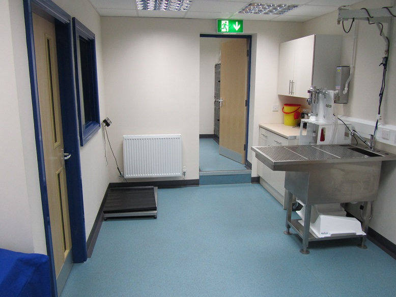 Irby Vets preparation room
